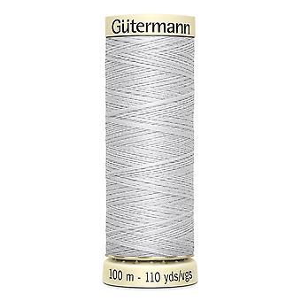 Gutermann sy-alle 100% polyestertråd 100m Hånd- og maskinfarvekode - 8