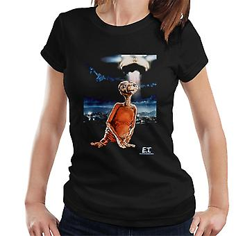 E.T. The Extra-Terrestrial Spaceship Portrait Women's T-Shirt