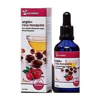 Rosehip + argan oil 50 ml
