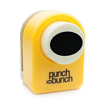 Punch Bunch Medium Punch - Oval 24mm, 7/8 inch