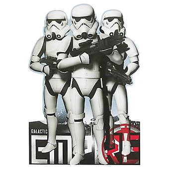 Hallmark Star Wars Galactic Empire Stormtroopers Birthday Card 11518446