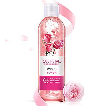 Rose Petals Essence Water Face Toner Shrink Pores Anti Aging Whitening Moisturizing Oil Control Skin Care