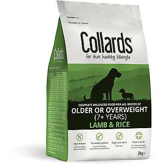 Collards Older/Overweight Dog - Lamb & Rice - 2kg