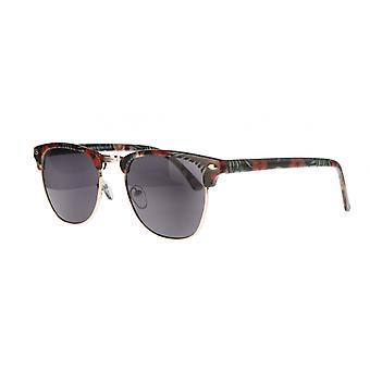 النظارات الشمسية Unisex Cat.3 الدخان الأحمر / الأسود (AMU19207 I)
