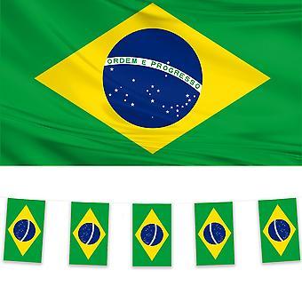 Brazilië Vlag en Bunting Pack