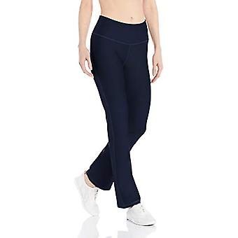 Essentials Womenăs Performance Slim Bootcut Active Pant, Navy, Mediu