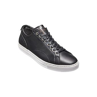 Barker Axel - Black Calf - 6 | Mens Handmade Leather Sneakers | Barker Shoes