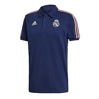 Tricou polo 2020-2021 Real Madrid 3S (albastru închis)