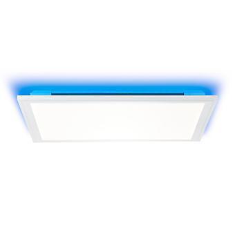 BRILLIANT Lampe Allie LED Loftpanel 40x40cm hvid   1x 25W LED integreret, (2734lm, 2700-6500K)   Skaler A++ til