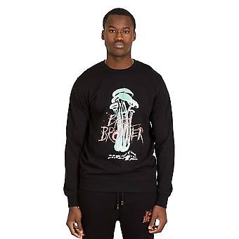 Blood Brother Wolfe Sweatshirt - Black