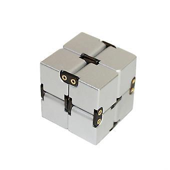Homemiyn Aluminum Alloy Cube With Cover, Unlimited Cube With Rivets