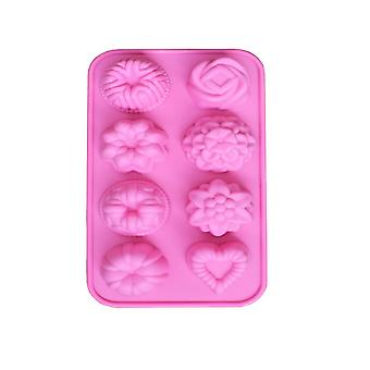 Multi-type Candy Chocolate DIY Molds Kitchen Tools Pink