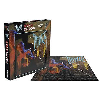 David Bowie Jigsaw Puzzel Laat Dance Album Cover nieuwe officiële 500 Piece