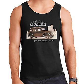 Austin You Can Depend On It British Motor Heritage Men's Vest