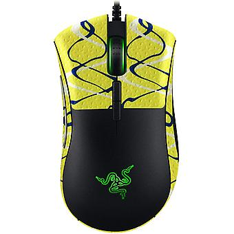 REYTID Durasoft Polímero Gaming Mouse Skin Grip Sticker Tape - PRE-CUT - Compatible con Razer Deathadder Elite - Grips antideslizantes, impermeables y ultracómicos