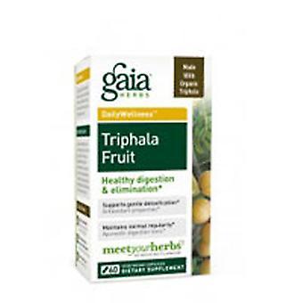 Gaia Herbes Triphala Fruit, 60 CAPS