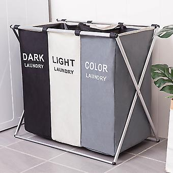 Dirty Clothes Storage Basket Organizer Basket Collapsible Large Laundry Hamper Waterproof Home Laundry Basket