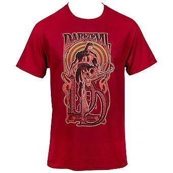 Daredevil Saint of Hell's Cocina Hombres's Camiseta
