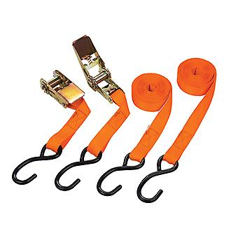 BlueSpot Tools Ratchet Tie-Down Set 25mm x 4.5m B/S45407