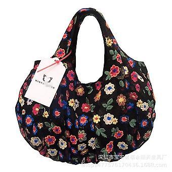 Koreaanse Organza Borduurwerk kleurrijke bloemen hand tassen en schoenen andere tassen
