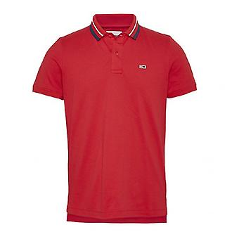 Polo Tommy Hilfiger TJM Classics Tipped Stretch Polo Rouge