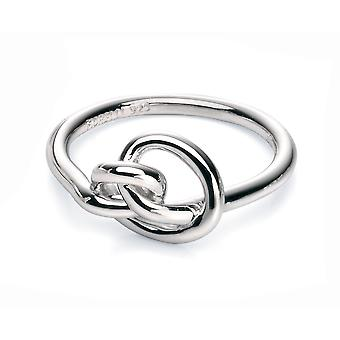 Fiorelli Silver Femmes 925 Sterling Silver Knot Ring