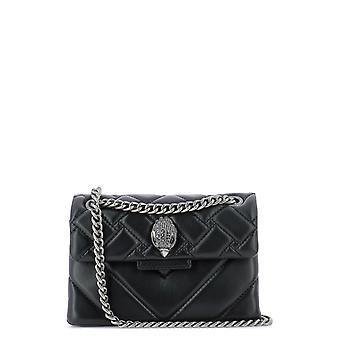 Kurt Geiger Kga147080010900 Women's Black Leather Shoulder Bag
