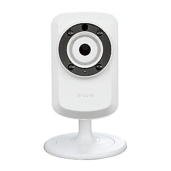 D-link dcs-932l indoor ip surveillance camera, 640 x 480 resolution, sound and motion detection, wir