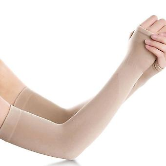 Ice Fabric Arm Sleeves Summer Sports Uv Protection Running, Cycling & Driving