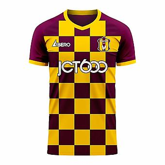 Bradford 2020-2021 Home Concept Football Kit (Libero) - Adult Long Sleeve