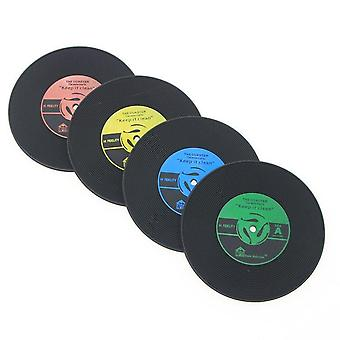 Record Shaped Creative Coasters