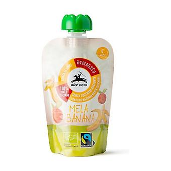 Apple and banana puree in BioBaby Food Fairtrade doypack None
