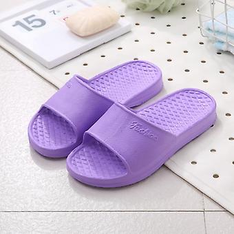 Summer Indoor Couple Family Women/men Hotel Bathroom Bath Sandal, Slippers