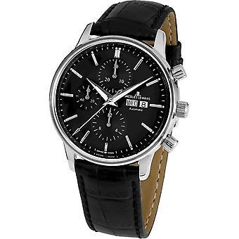 Jacques Lemans - Wristwatch - Men - Retro Classic Valjoux Automatic - N-208B