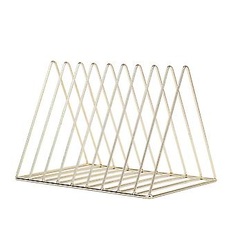 Desktop Book Storage Rack Bookshelf Magazine Holder Nordic Style Display