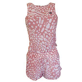 Adidas Originals Caribbean Vest Jumpsuit Womens One Piece Ash Pink S24950
