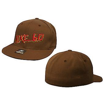 נייקי 6.0 סקייטבורד גברים Snapback כובע מבוגרים כובע בראון 239241 210 OPU109