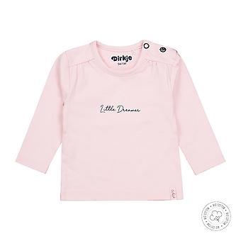 Dirkje Girls Tshirt Little Dreamer Light Pink