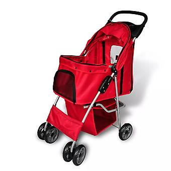 Dog Car Dog Buggy Red