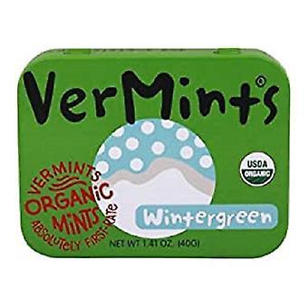Vermints All Natural Breath Mints Wintergreen