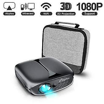 Mini projector, elephas wifi dlp hd portable pico 3d video pocket projector supports 1080p hdmi usb