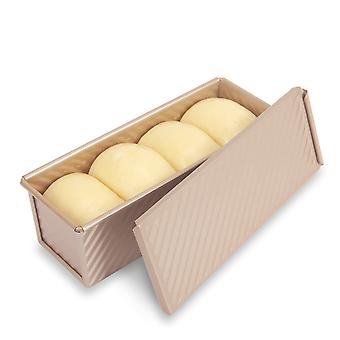 0.66lb Non-stick Loaf Tins, Toast Bread Baking Tins Flat