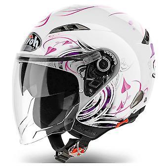 Airoh Helmet City One Jet - Serce Biały Połysk