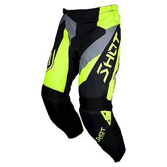 Shot Devo Alert Yellow Adults MX Pants