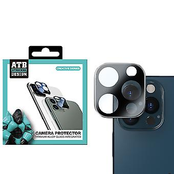 iPhone 12 Pro Zwart Camera - Screenprotector Lens ATB