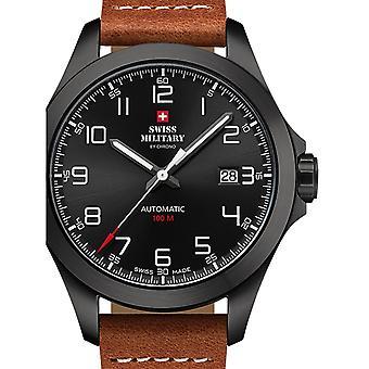 Reloj masculino militar suizo por Chrono SMA34077.05, Automático, 42mm, 10ATM