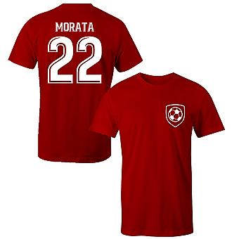 Alvaro Morata 22 Club Style Player T-Shirt