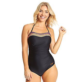 Zoggs Culture Jam Strapless Swimsuit