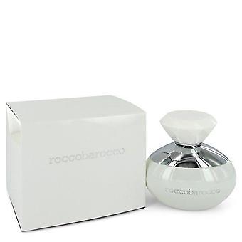 Roccobarocco White Eau De Parfum Spray By Roccobarocco 3.4 oz Eau De Parfum Spray