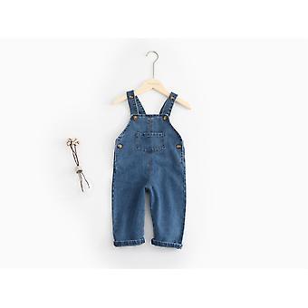 Baby Denim Overalls, Child Pants, Infant Jumpsuit